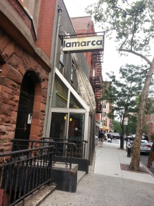 Lamarca - exterior of restaurant **Taken by Nicole Oliva using a Samsung Galaxy**