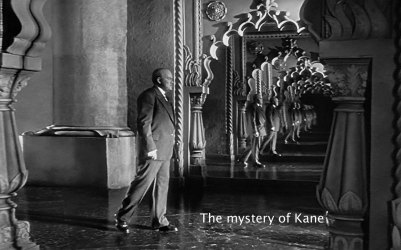 [ The Mystery of Kane ] Citzen Kane - Image of Kane from A Sharper Focus **The Gaff Blog does not own this image**